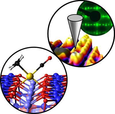 Ni-modified Fe3O4(001) surface as a simple model system for understanding the oxygen evolution reaction